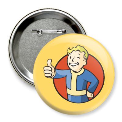 Значок 75мм Fallout 4