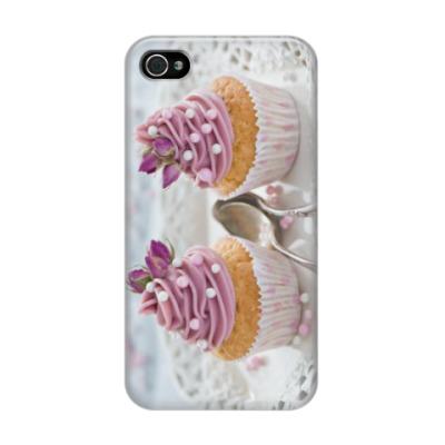 Чехол для iPhone 4/4s кексы