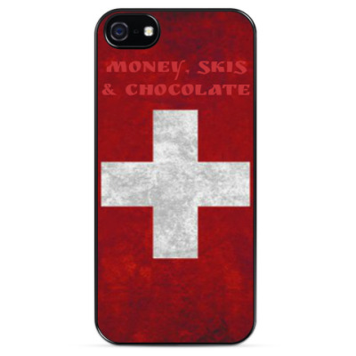 Чехол для iPhone Money, skis & chocolate