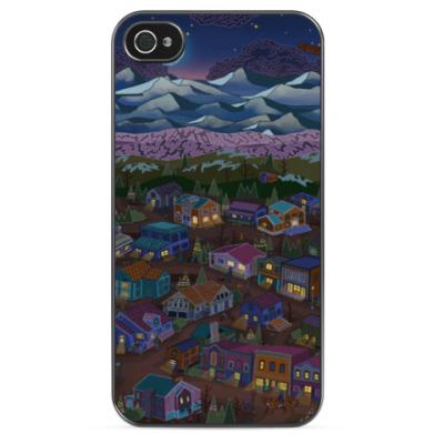 Чехол для iPhone Town
