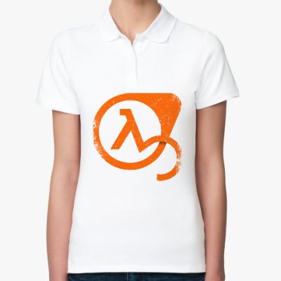Женская рубашка поло Half-Life 3