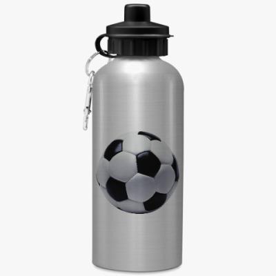 Спортивная бутылка/фляжка Футбольный мяч