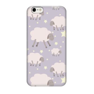 Чехол для iPhone 6/6s Сонные овечки