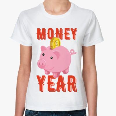 Классическая футболка MONEY YEAR