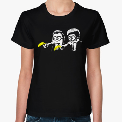 Женская футболка Pulp Minions