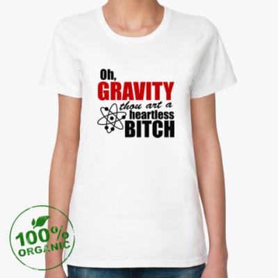 Женская футболка из органик-хлопка Big Bang Style