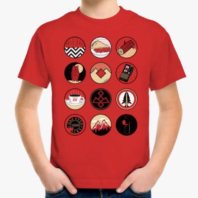 Детская футболка Сериал Твин Пикс Twin Peaks