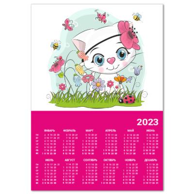Календарь Кошка