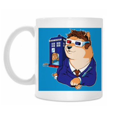 Кружка Doctor Doge