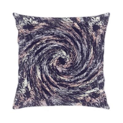 Подушка Абстрактная спираль