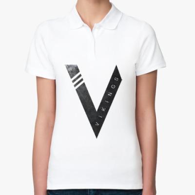 Женская рубашка поло Vikings