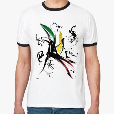 Футболка Ringer-T Мужская футболка «ВЕТЕР»