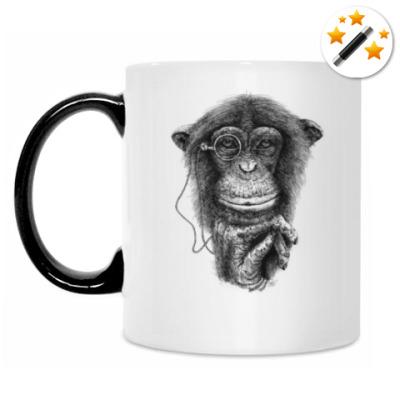Кружка-хамелеон Monkey