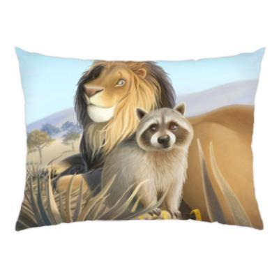 Подушка Средний лев