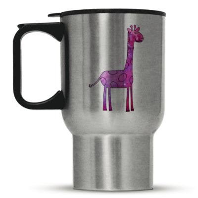 Кружка-термос Космический Жираф