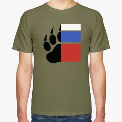 Футболка Медведь из России