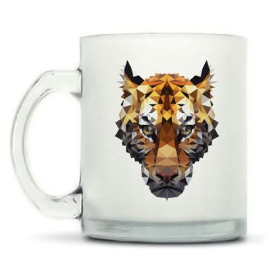 Кружка матовая Тигр / Tiger