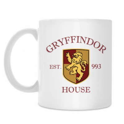 Кружка Gryffindor