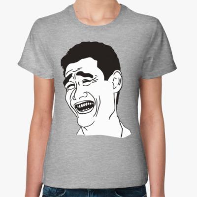 Женская футболка Fuck That