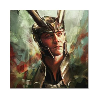 Наклейка (стикер) Loki (Локи)