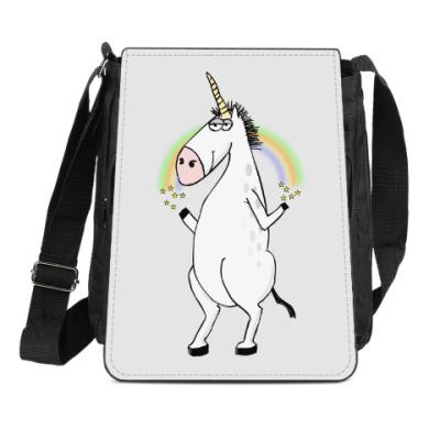 Сумка-планшет Единорог