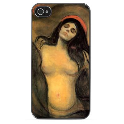 Чехол для iPhone Эдвард Мунк - Мадонна