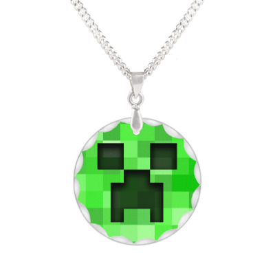 Кулон Minecraft Creeper