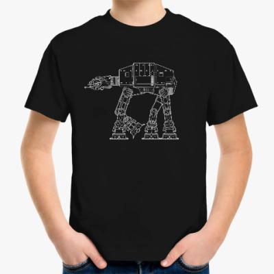 Детская футболка AT-AT walker. Звёздные войны