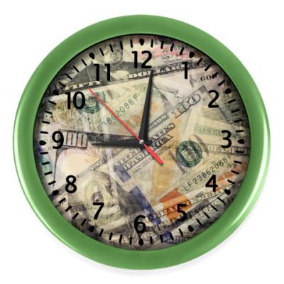 Настенные часы доллары
