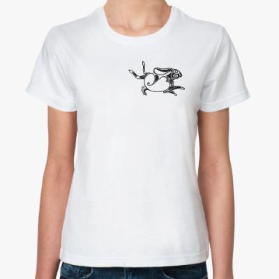 Классическая футболка Скифский заяц