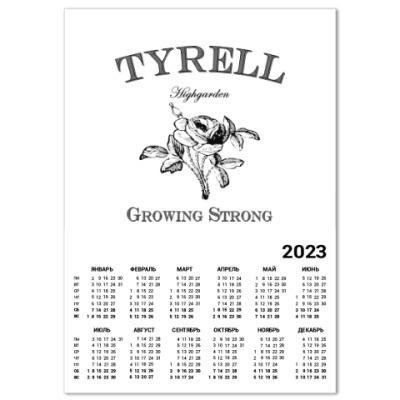 Календарь Tyrell