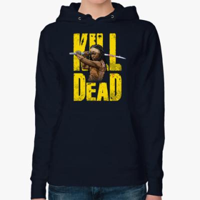 Женская толстовка худи Walking Dead Ходячие мертвецы