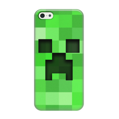 Чехол для iPhone 5/5s Minecraft Creeper