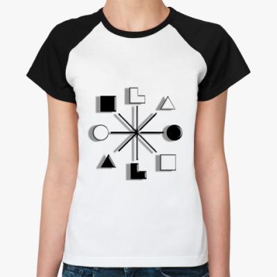 Женская футболка реглан   Наполеон, СЭЭ