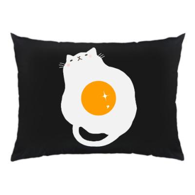 Подушка Кот-яичница