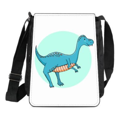 Сумка-планшет Динозаврик