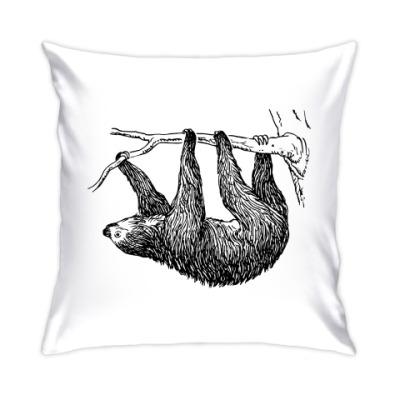 Подушка Ленивец