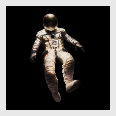 Постер В открытом космосе