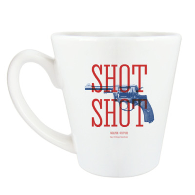 Чашка Латте Оружие СССР