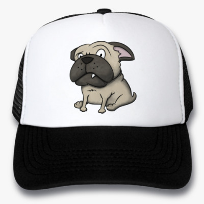 Кепка-тракер grumpy dog