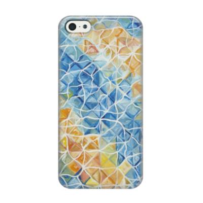 Чехол для iPhone 5/5s Рыбы сквозь блики