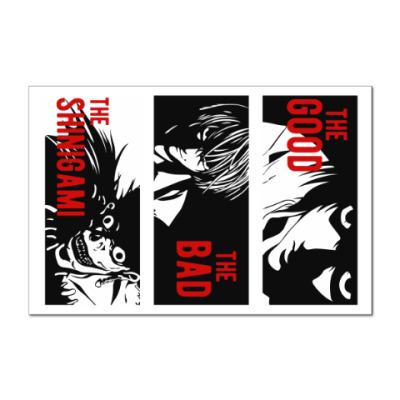 Наклейка (стикер) Тетрадь смерти