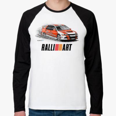 Футболка реглан с длинным рукавом Ralli Art