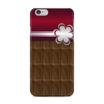 Чехол для iPhone 6 Plus шоколадка