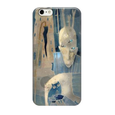 Чехол для iPhone 6 Человек с котятами