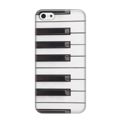Чехол для iPhone 5/5s Клавиши фортепиано