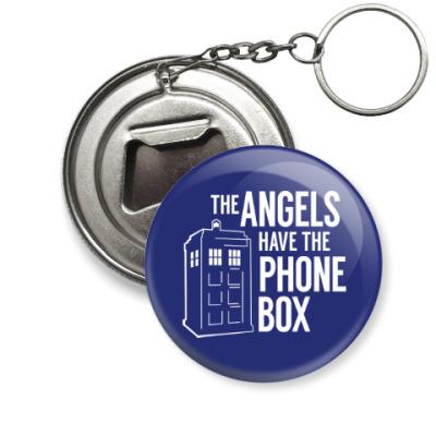 Брелок-открывашка The Angels Have The Phone Box