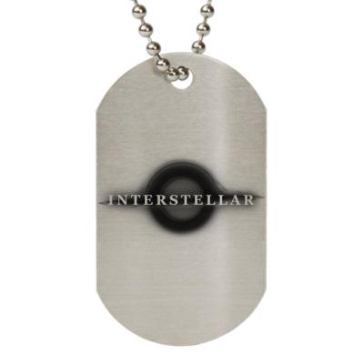 Жетон dog-tag Interstellar