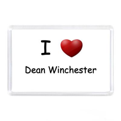 Магнит  I Love Dean