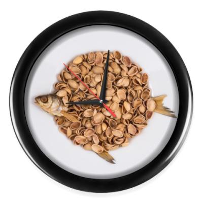 Настенные часы Fish